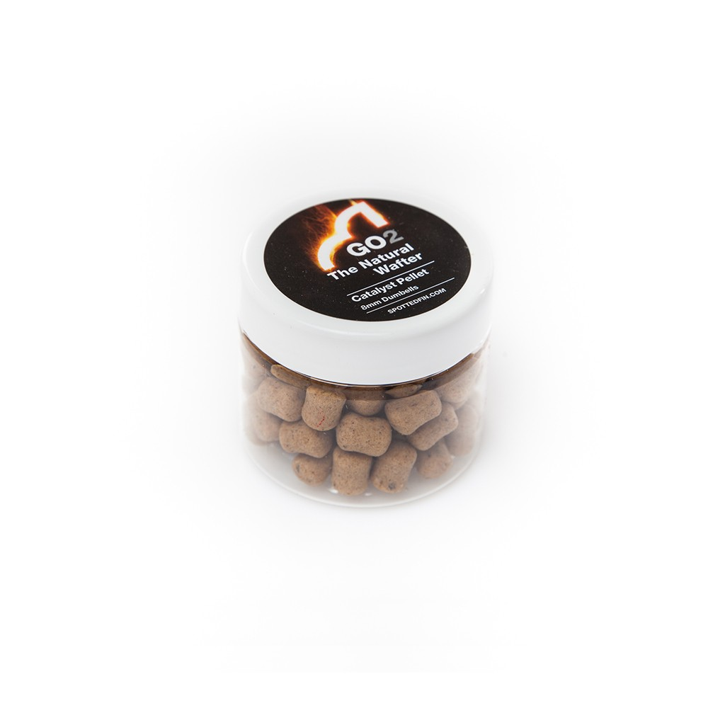 Spotted Fin 12mm /& 15mm Catalyst Cork WaftersCarp Fishing Bait Boilies