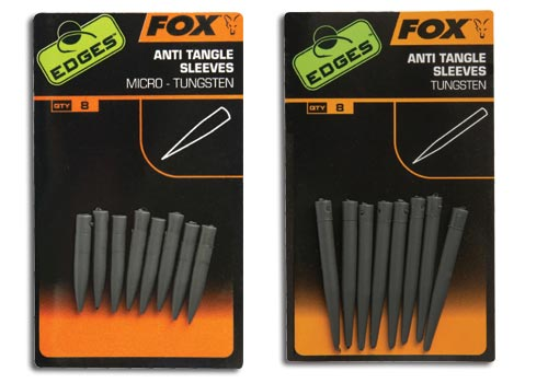 Fox EDGES™ Tungsten Anti Tangle Sleeves