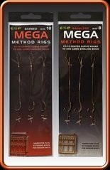 ESP Mega Method Feeder Rig (3 rigs per pack. Barbed)