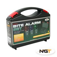 NGT 3pc + Transmitter WireLess Alarm Set - Black - VS