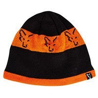 Fox Black & Orange Beanie