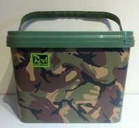 Rod Hutchinson Camo Bucket 10 liter