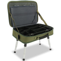 NGT Deluxe Box Case System w/ Bivvy Table