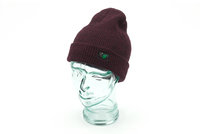 Thinking Anglers Beanie Hat Antique Burgundy