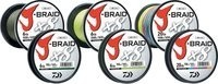 Daiwa J-BRAID 8 Braided Mainline 1500 meters