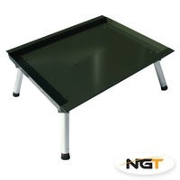 NGT Bivvy Bait Table w/ Adjustable Legs (206)