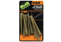 Fox Edges Naked Line Tail Rubbers Size 7