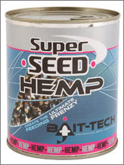 Bait-Tech Canned SuperSeed Hemp (350g)