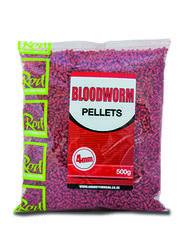Rod Hutchinson - Bloodworm Pellets - 4mm / 500g