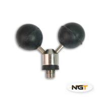 NGT Twin Stainless Steel Ball Rest