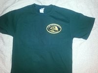 Carp Anglers Group Green T-Shirt
