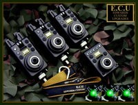 ECU MK1 Original Compacts 3+1 set Green Latching/White Run LED