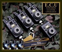 ECU MK1 Original Compacts 3+1 set White Latching/Blue Run LED