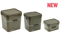 Trakker 5 Liter Olive Square Bucket Container with Lid