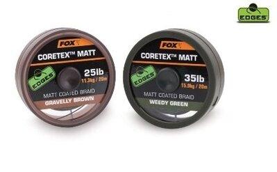 Fox Coretex Matt 25lb Weedy Green