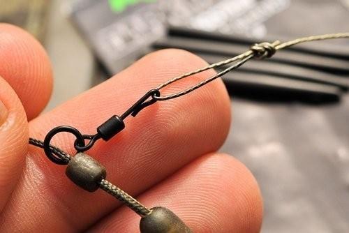 Korda NEW Carp Fishing Quick Change Rig Swivels 8pcs *All Types /& Sizes